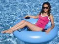 Swimline Chill Tube Deluxe - BLUE