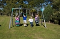 SportsLife Ultima 4 Unit Swing Set
