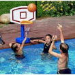 Swimline Jammin Poolside Basketball Game