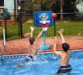 Swimline Jammin Telescopic Poolside Basketball Game