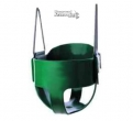 Full Bucket Playground Swing - Green
