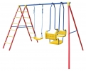 Hurricane Double Swing Set