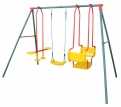 Hurricane Triple Swing Set