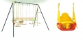 Sleep Well Tonight Swing Set with 3-Way Convertible Swing