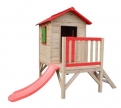 SportsLife Wooden Playhouse with Slide